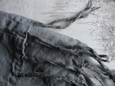 NEW: hand dyed linen