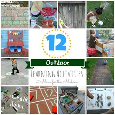 81 best outdoor learning images on pinterest outdoor learning