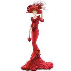victorian women thomas kinkade figurines | Thomas Kinkade - Collectible Figurines, Home Decor, Collectors Plates ...
