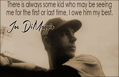 A collection of quotes attributed to professional baseball player Joe DiMaggio. Famous Baseball Players, Famous Baseball Quotes, Baseball Equipment, Baseball Stuff, Joe Dimaggio, Dodgers Baseball, New York Yankees, Embedded Image Permalink, Cool Words