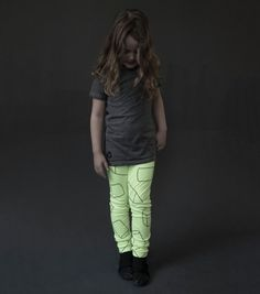 geometric leggings - NUNUNU WORLD