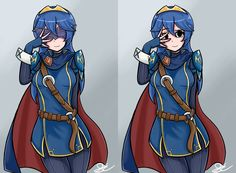 Lucina (Masked + Unmasked) by Geeyolo
