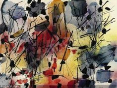 Jean-Paul Riopelle.....love this artwork Follow the biggest painting board on Pinterest www.pinterest.com/atelierbeauvoir