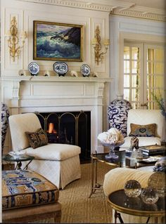 Donna's Blog - A Designer's Perspective: It's All About Blue & White