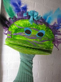 This is my favorite type of puppet to make with kids.