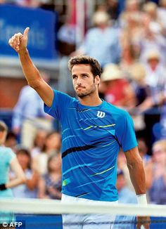 Feliciano Lopez - finally has a decent haircut Wimbledon, Are You Happy, Hair Cuts, Wellness, Athletes, Sexy, Mens Tops, Fan, Sport