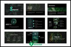 Sampoinit Presentation Template by Slientslide on @creativemarket