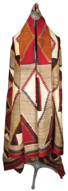 Navajo Wearing Blanket-Wow!