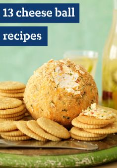 13 Easy Cheese Ball Recipes — One of the easiest cold appetizers to prepare, cheese balls play well with other cheesy dips, salsas and spreads. Serve these with crackers or crunchy veggies that are in season.