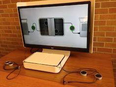 interactive whiteboard: steelcase Media:Scape mini