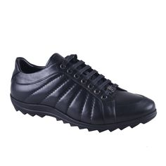 Versace Collection Black Leather Fashion Sneakers Shoes Sz 7 8 9 10 11 12 | eBay