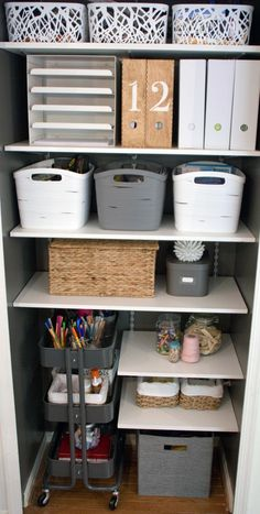 IKEA Raskog Cart for closet storage