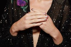 Some claim the nail-art trend is on its final legs. We beg to differ. It wasn't dying last season, and all signs backstage at the spring '17 shows point to intricate designs and 3D add-ons staying strong for months to come.   We say: Bring it on. Abstract shapes, layered ombré, color-blocking —