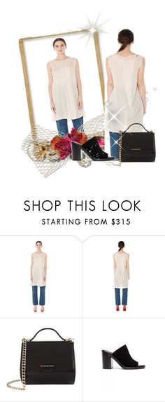 """""""svmoscow"""" by gold-phoenix ❤ liked on Polyvore featuring Ann Demeulemeester and Givenchy"""