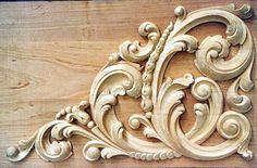 악세사리모음03 : 네이버 카페 Wood Carving Designs, Wood Carving Art, Trumeau, Wal Art, Plaster Art, 3d Cnc, Grisaille, Wooden Art, Architectural Elements