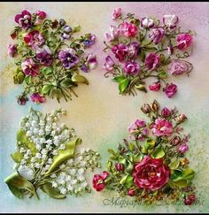Embroidery Designs For Hats before Silk Ribbon Embroidery Tutorial For Beginners about Embroidery Designs Horses Embroidery Designs, Ribbon Embroidery Tutorial, Silk Ribbon Embroidery, Crewel Embroidery, Embroidery Patterns, Embroidery Supplies, Embroidery Saree, Embroidery Thread, Embroidery Materials