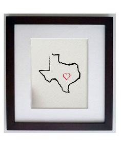 State of Texas print, $17.50
