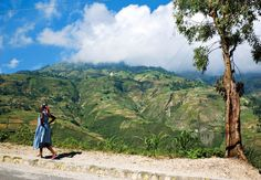 This road above Port-au-Prince, Haiti, leads to the nineteenth-century Fort Jacques