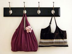 Tank Top Totes: Hurrah, a neat repurpose for all of those tired tank tops.