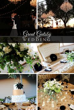 classy invitations & Gatsby-esque decor that lives up to the glitz & glam of the time. With sharp details, bold colors, & unique designs with a flare, your guests will be impressed! Travel back in time with Stems and RSVP Style to re-create the magic of the 1920s