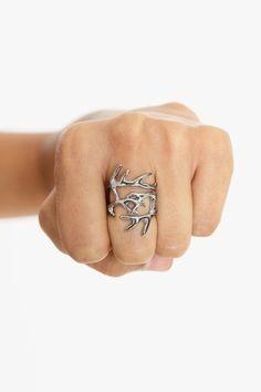 Antler wrap ring