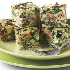Frittata Bites with Chard, Sausage, and Feta