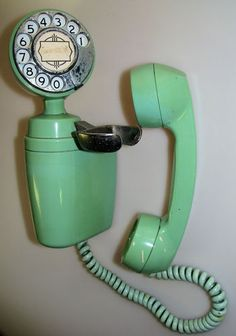 Vintage Automatic Electric Company AE Co Wall Mount Dial Telephone   eBay