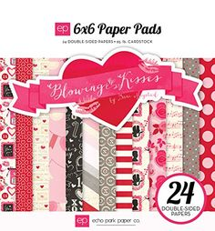 Echo Park Paper Company Blowing Kisses Paper Pad