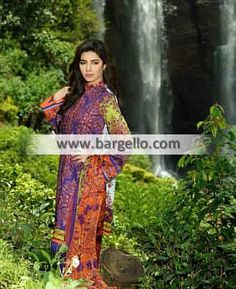 WL8460 Gorgeous Summer Collection Suits Umer Sayeed Lawn April 2015 - UK USA Canada Australia Saudi Arabia Bahrain Kuwait Norway Sweden New Zealand Austria Switzerland Germany Denmark France Ireland Mauritius and Netherlands