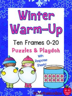 Your students will love these hands-on ten frame activities that help develop number sense. Perfect for seasonal fun!