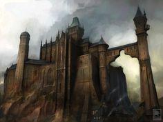 Картинки по запросу castle concept art
