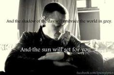 Shadow of the day lyrics