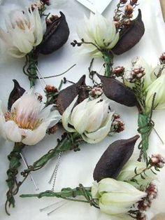 Australian native flower bouquet by Blooming Brides. Diy Wedding Flowers, Bridal Flowers, Flower Bouquet Wedding, Floral Wedding, Flower Bouquets, Wedding Ideas, Wedding Corsages, Wedding Boutonniere, Bridal Bouquets