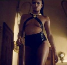 Oh my god, Cassie Ventura does not look sexy! She's ridiculous! The 25-year-old flaunts her big boobs in the new video for her upcoming track King of Hearts. http://www.glamourvanity.com/music/cassie-venturas-dominatrix-look-hot-or-not/