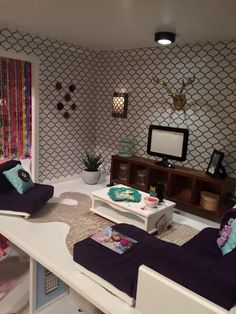 135 Best Living room DIY and inspiration for American Girl Dollhouse ...
