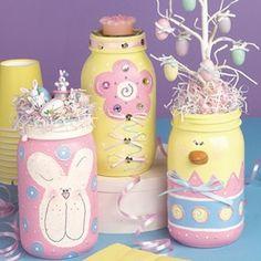 Leisure Arts - Spring Jars Craft Patterns ePattern, $2.99 (http://www.leisurearts.com/products/spring-jars-craft-patterns-epattern.html)