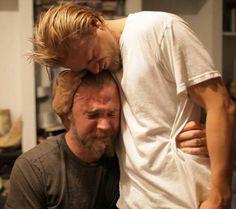Charlie Hunnam and Ryan Hurst