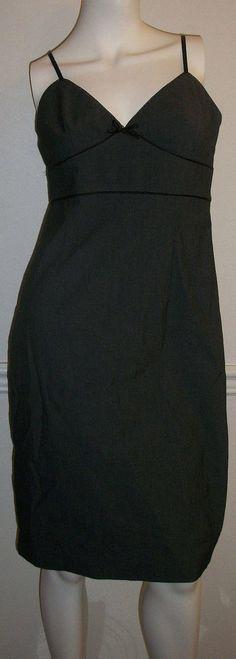 Express stretch Dress Women's size 10 Pencil Cocktail Empire waist Gray Black  #Express #EmpireWaist #Cocktail