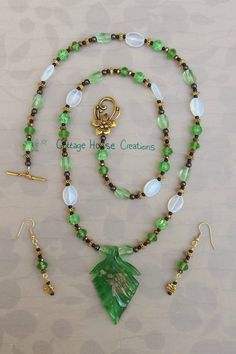 ~ Chloé ~  Jewelry Making Bead Supply Kit with Step by Step Photo Instructions #CottageHouseCreations
