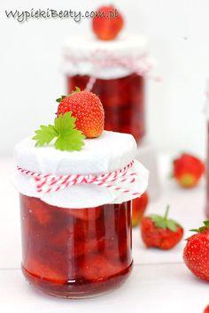 Frużelina truskawkowa idealna do słoików na zimę :)