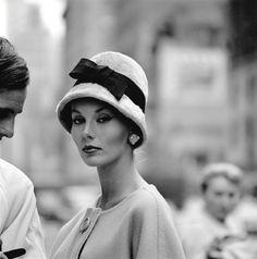 Isabella Albonico, NYC, 1959
