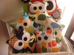 PIN TO WIN 1 Cute Handcrafted Owl