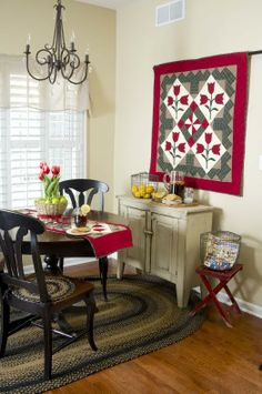 Photo courtesy of Country Sampler. Our Sideboard as seen in the magazine.