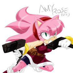 Amy Rose adulta e violenta! Amy Rose adult and violent! Amy Rose, Amelia Rose, Sonic The Hedgehog, Shadow The Hedgehog, Sonic And Amy, Sonic Team, Sonamy Comic, Shadow And Amy, Sonic Fan Characters