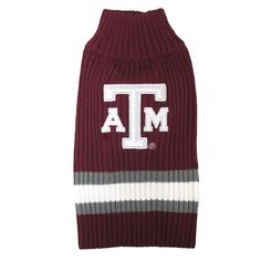 Pets First Collegiate Texas AandM Aggies Pet Sweater ** Additional details found at the image link  : Dog shirts