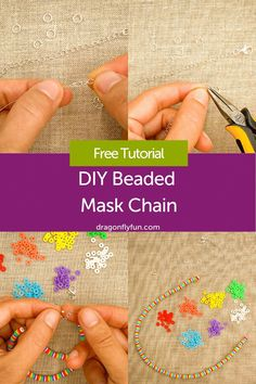 You MASKED For It, You Got It! 😷 You'll wonder how you've gotten this far without this handy dandy Beaded Mask Chain! 📿 Our easy-to-follow DIY shows you how to make a face mask lanyard so it's always in reach. No more digging around that bag (or in the backseat) for your or your child's face covering! Change up the beads to match your style! Such a thoughtful, handmade gift for a teacher, grandparent or essential worker! 🎁