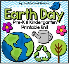 This Earth Day file includes math, language, and literacy, great for morning work or classroom centers in Pre-K during the month of April. Earth Day Crafts, Earth Craft, Preschool Themes, April Preschool, Preschool Printables, Preschool Classroom, Preschool Crafts, Earth Day Activities, Spring Activities