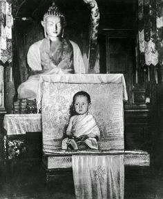 The 14th Dalai Lama As A Young Child his holiness