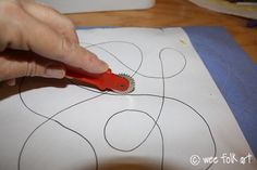 Quilting Basics - Part I - Getting Started   Wee Folk Art - (love this tip - use a tracing wheel to go over your pattern - leaves indentations and guides you where to put your stitches - esp. for me as a beginner)