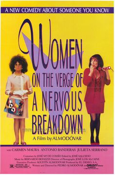Women on the Verge of a Nervous Breakdown - Director: Pedro Almodóvar, 1988. with Antonio Banderas